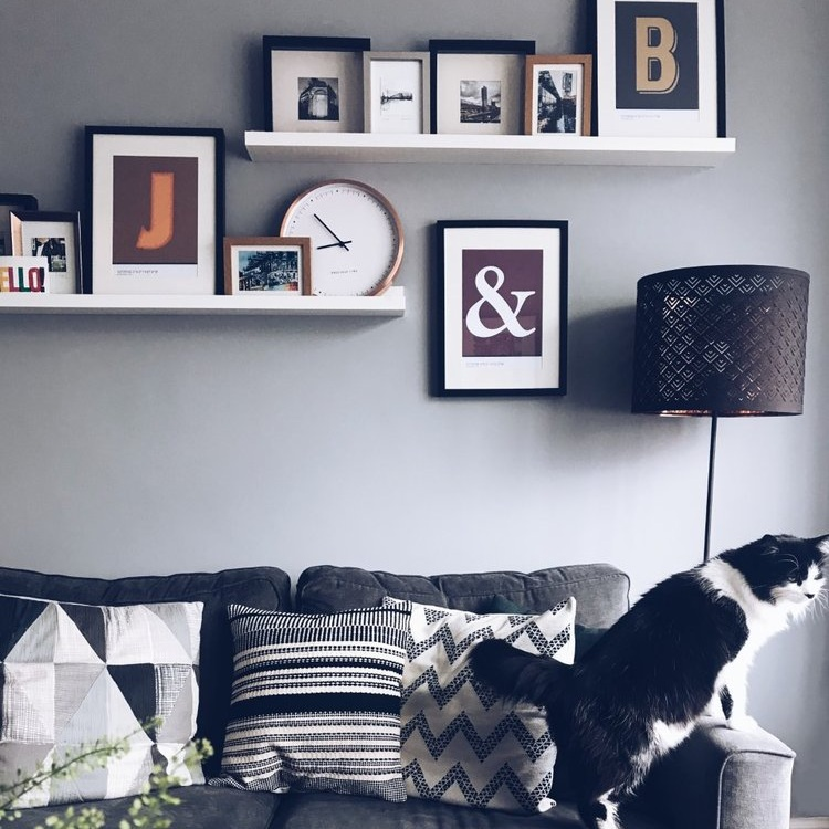 Cheap & Easy Gallery Wall Ideas