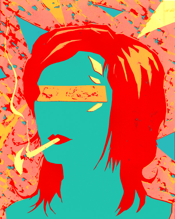 Burning Identity - Silkscreen