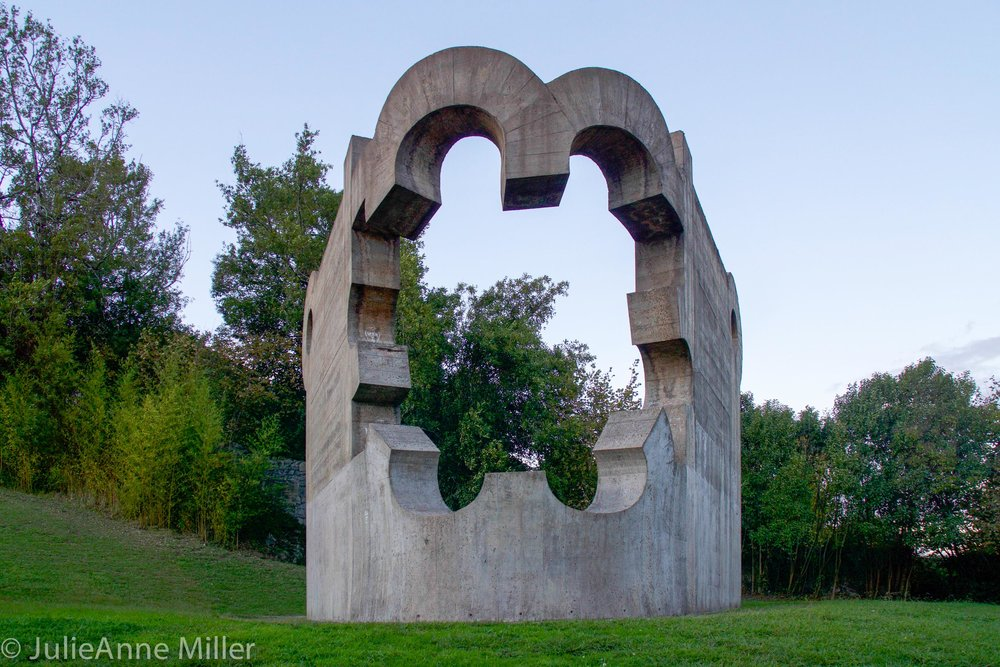 Monument to Peace by Eduardo Chillida