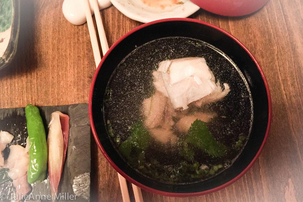 kaiseki dinner