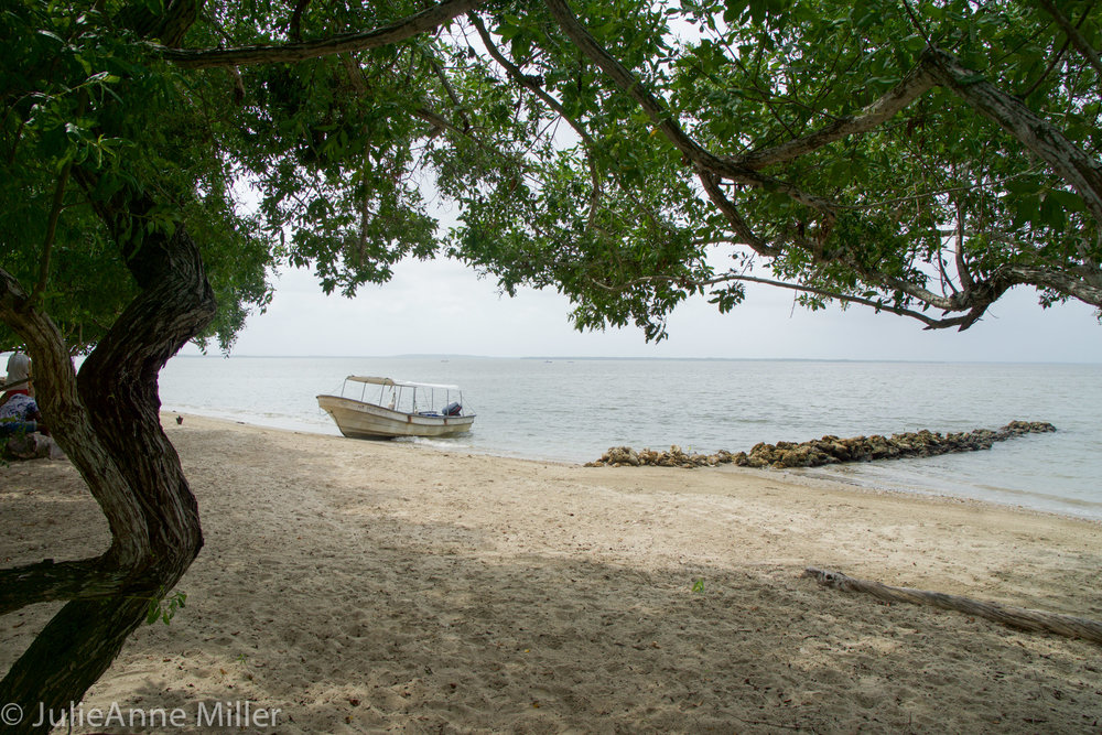 boat on beach at hotel.jpg