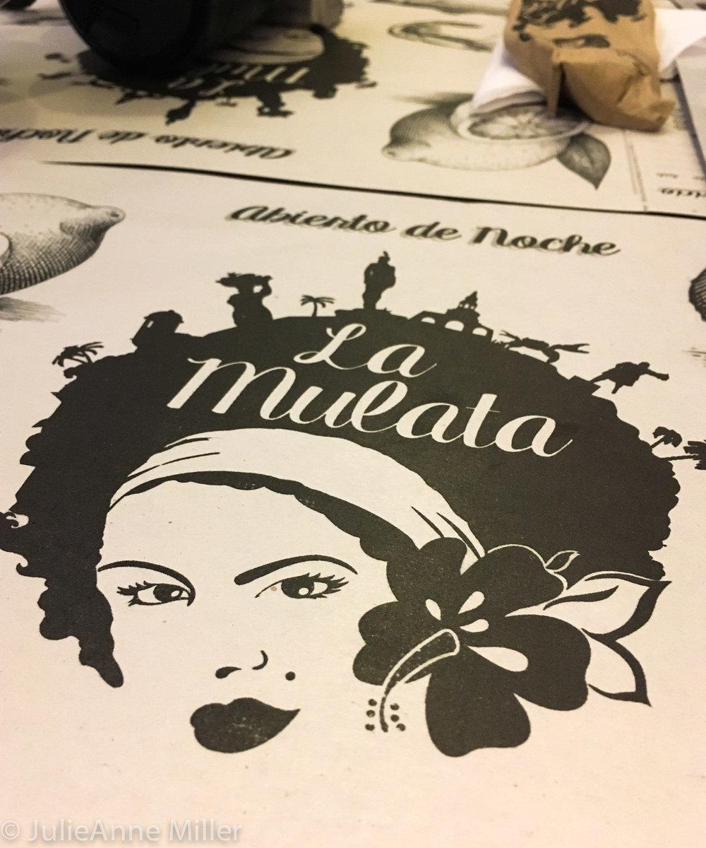 La Mulata restaurant placemat.jpg