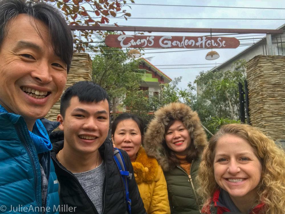 Tuan's lovely family