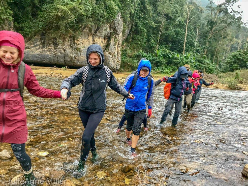 trek to Hang En Cave