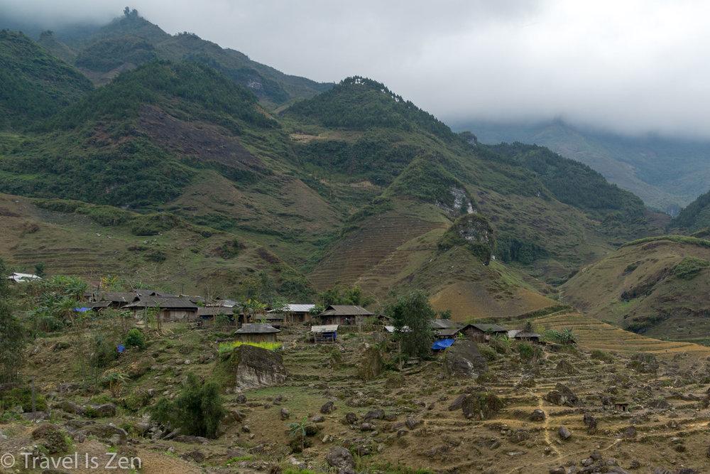 north Vietnam village