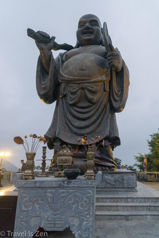 Buddha at Bai Dinh