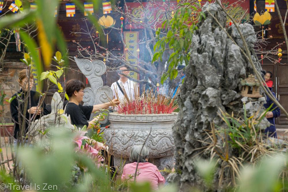 temple pilgrimage