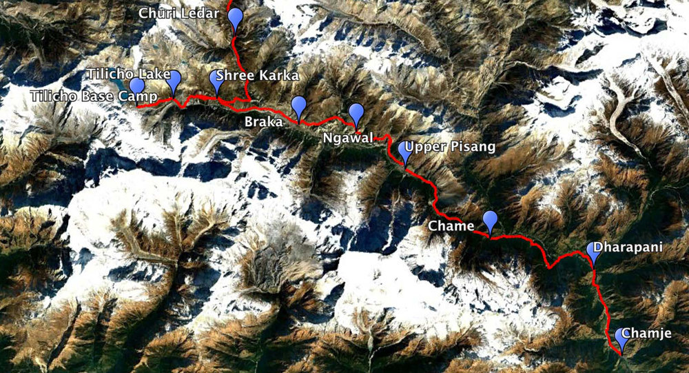 """Following Andrees de Ruiter's suggestion to """"Pimp our Annapurna Circuit"""" with a side trek to Tilicho Lake."""