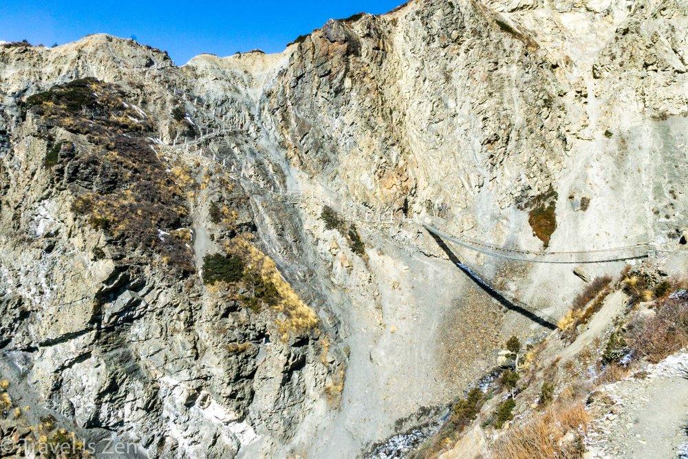 heading into landslide zone