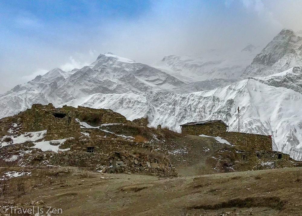 Deserted Upper Khangsar