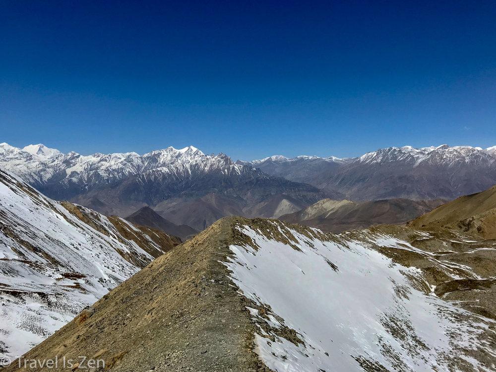 descent to Muktinath