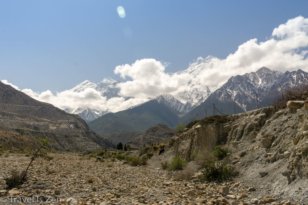 south of Jomsom