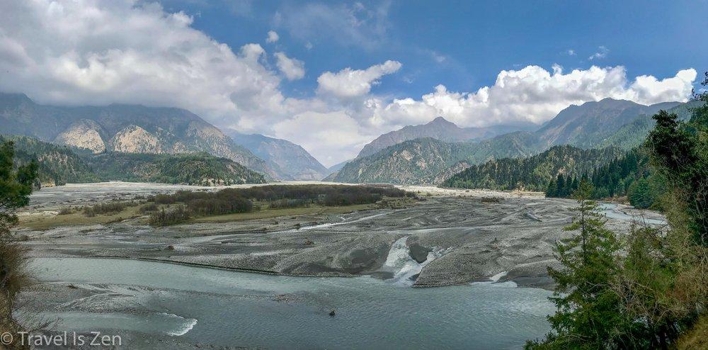 Kali Gandaki just south of Sauru