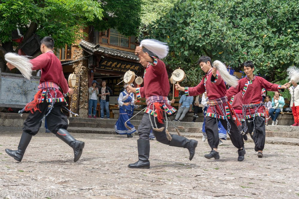 Naxi ethnic performance