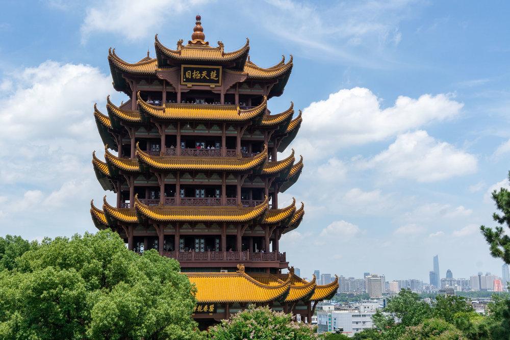 Yellow Crane Tower, Wuhan, China