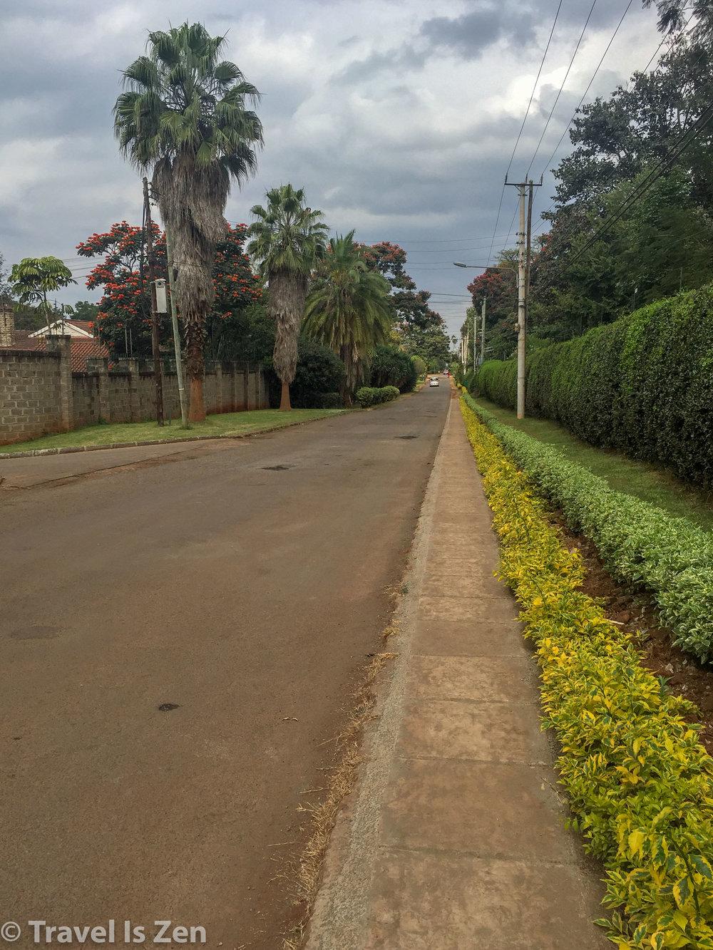 Rosslyn neighborhood, Nairobi, Kenya