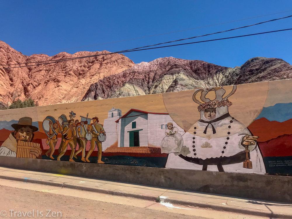 Purmamarca street art