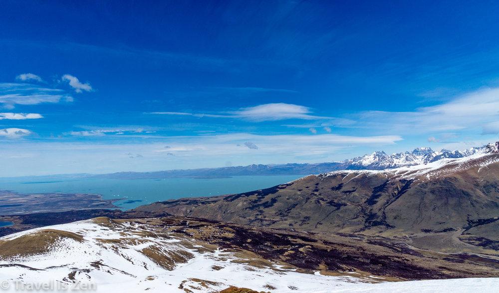Lake Viedma from Sendero Loma del Pliegue Tumbado, Patagonia, Argentina