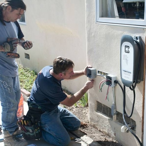 Your friendly electrician can set up your EVSE.
