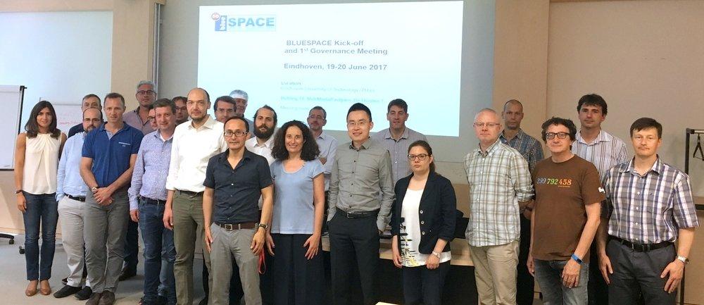 Bluespace Launching Partners, June 2017