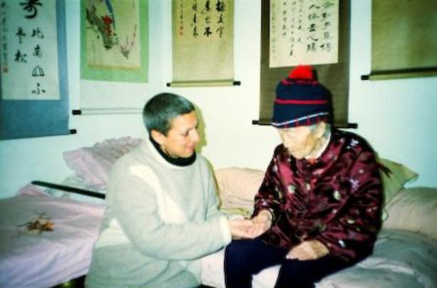 Wild Goose (Dayan)Qi Gong - Nadia's magical meeting with Grand Master Yang Meijun in 2001.