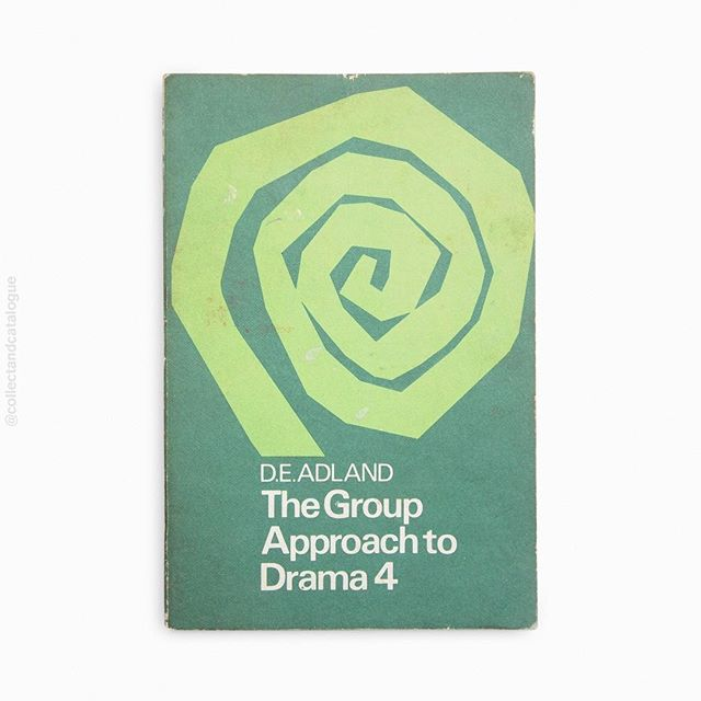 The Group Approach to Drama 4 by D.E. Adland. Published by Longmans. 1967. Cover designer unknown. . . #drama #longmans #modernist #modernism  #minimal #minimalism #minimalist #design #bookcover #bookcoverdesign #midcenturymodern #midcenturydesign #print #typography #graphicdesigner #designlife #collectandcatalogue #graphicdesign #instabook #classicbooks #print #20thcentury #vintage #classic #retro
