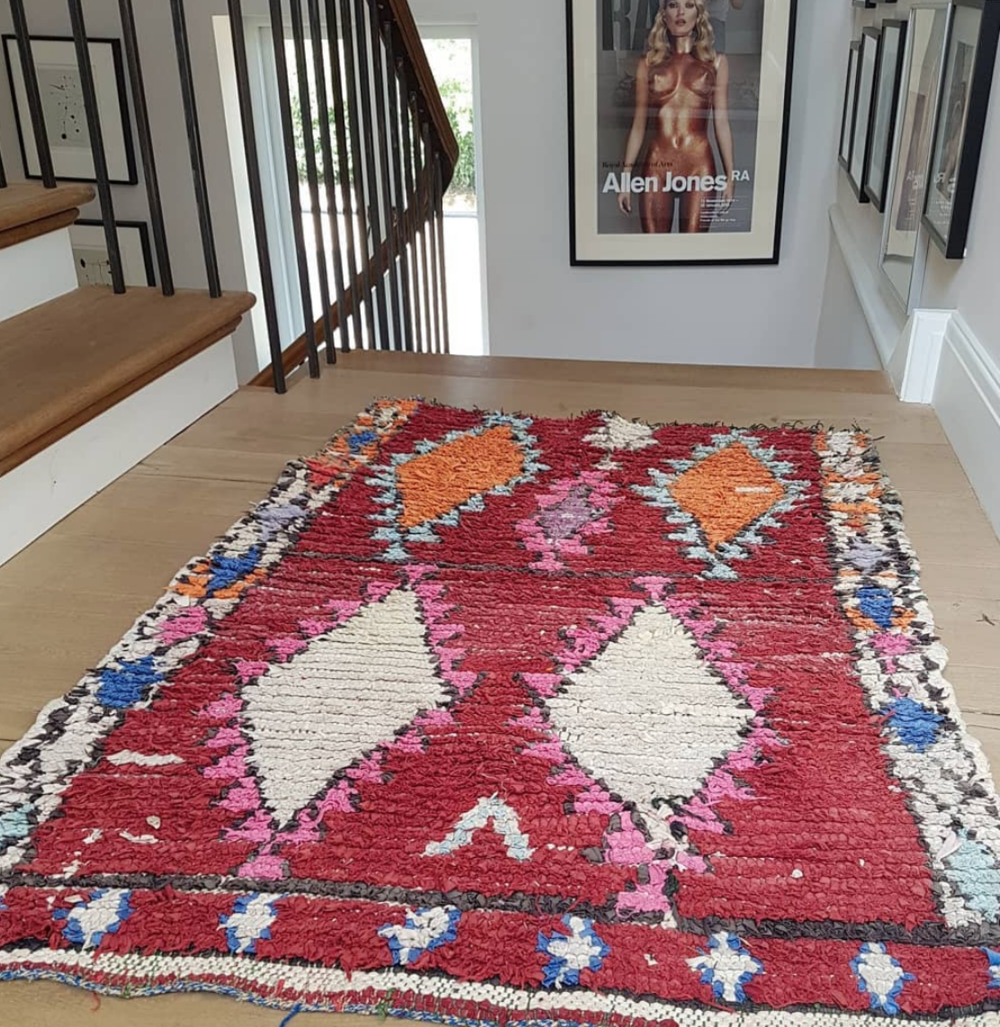 To find out about our rugs, check our  Instagram  or email us at  info@annacoxcushions.com .