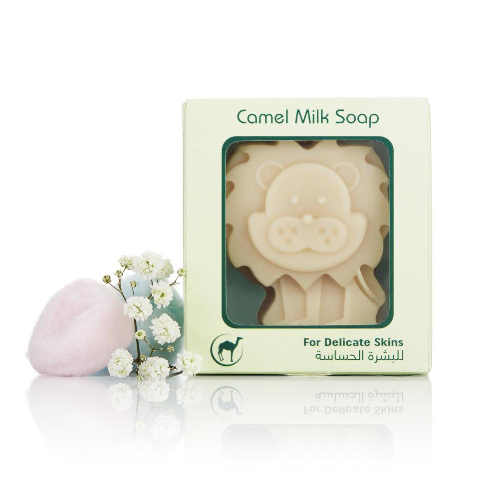 Lion - Childrens Camel Milk Soap Soft (Front).jpg