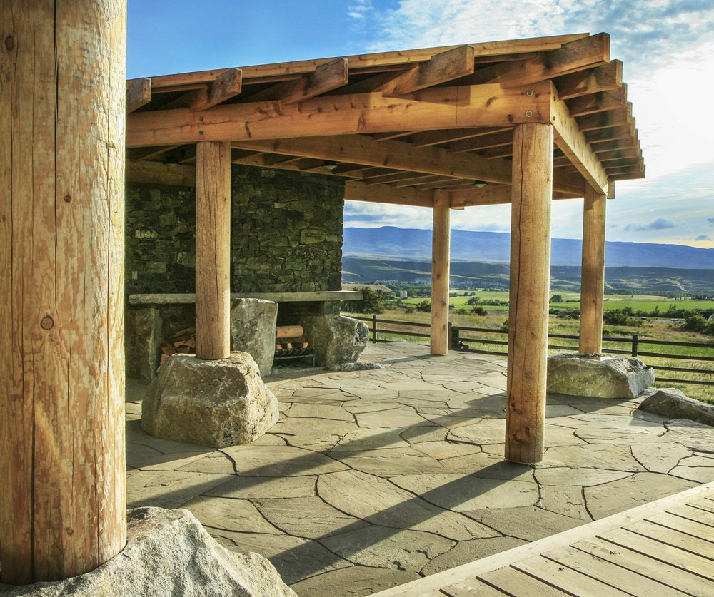 An Eastern Washington Patio -