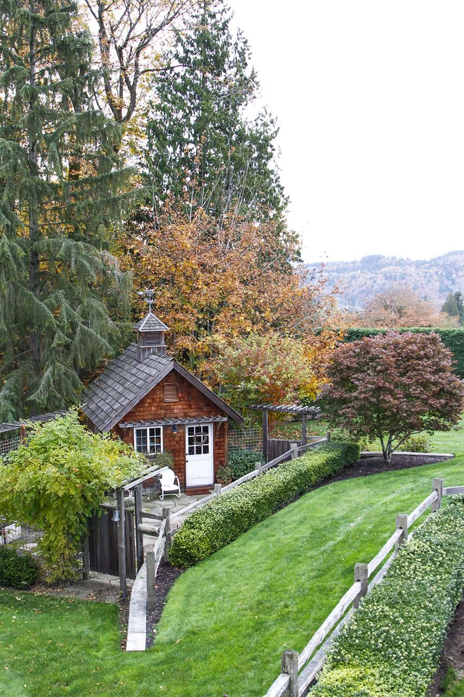 A Rural Garden -