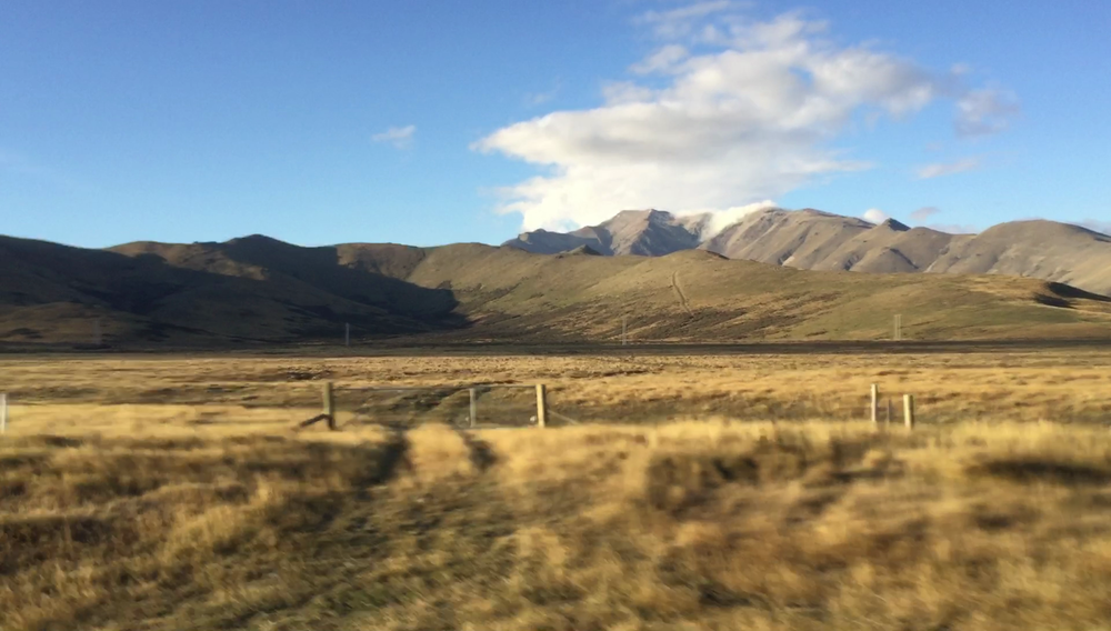 Journey to Lake Tekapo, 2017