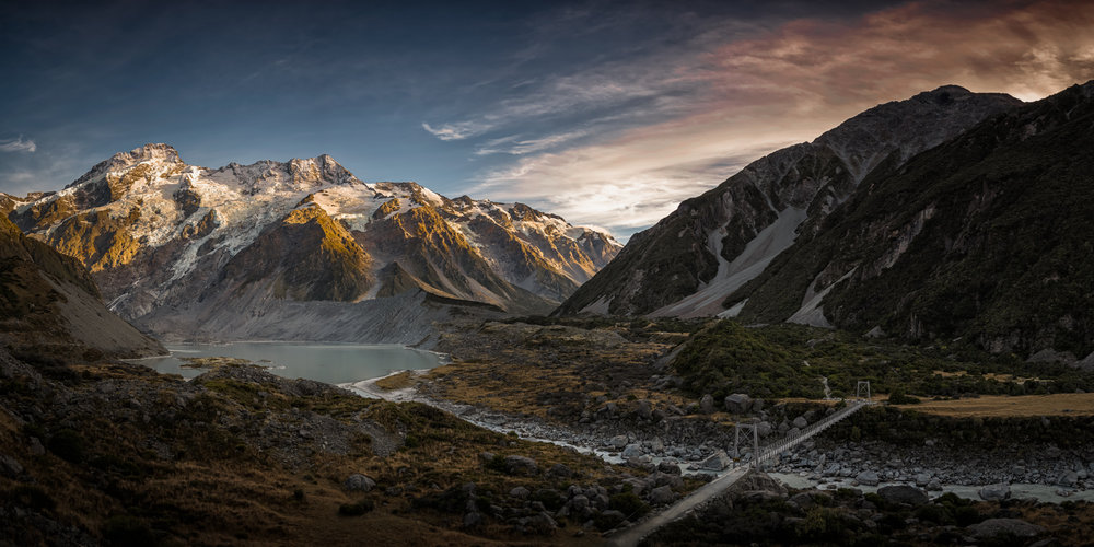 Mt Sefton & Mueller Lake, Mt. Cook, 2017