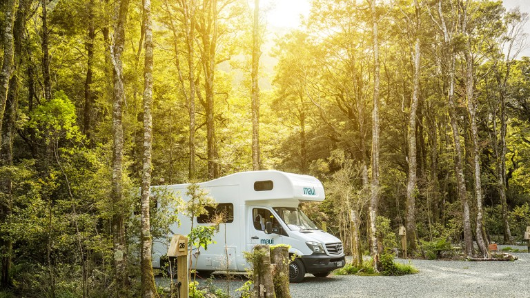 Campsite, Source: Milford Sound Lodge