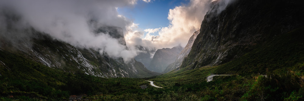 Gate to The Fiordland, Fiordland National Park, 2017