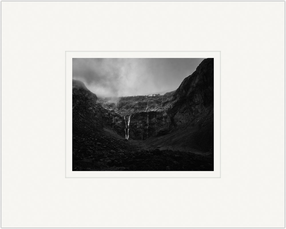 Untitled (Fiordland Waterfall)   20cm x 25cm Photo Paper Limited Edition of 99   IDR 399,000