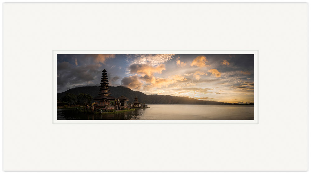 Ulun Danu Bratan   20cm x 60cm Photo Paper Limited Edition of 99   IDR 1,699,000