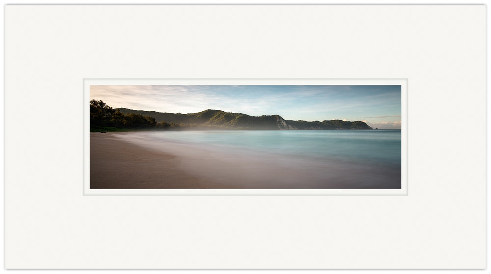 Misty Beach   20cm x 60cm Photo Paper Limited Edition of 99   IDR 699,000