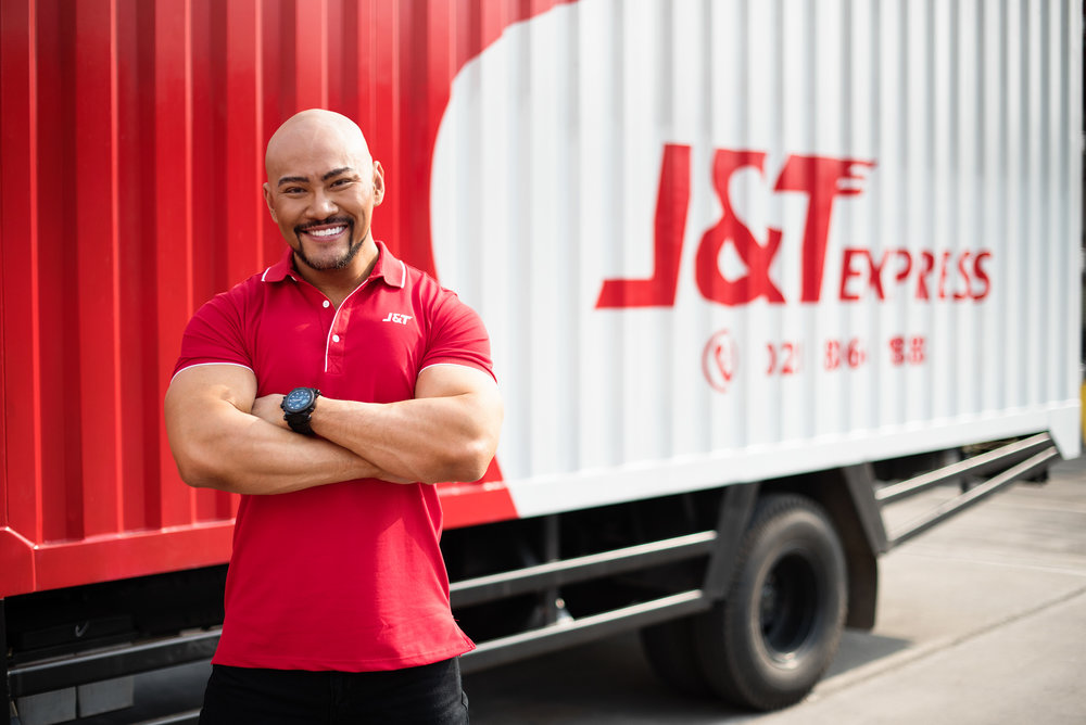 J&T Express - An express delivery company that applies technology development as the basic system.