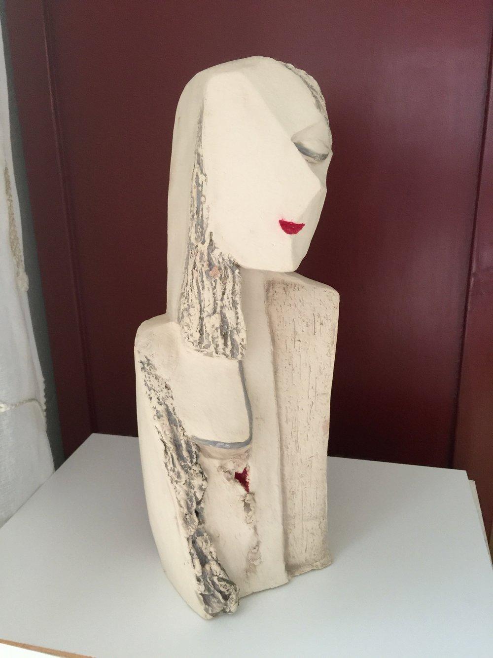 Picasso- Frau