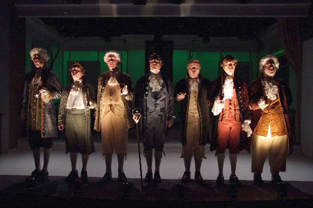 Our 2008 production of 1776, directed by Richard Israel photo: Ed Kreiger