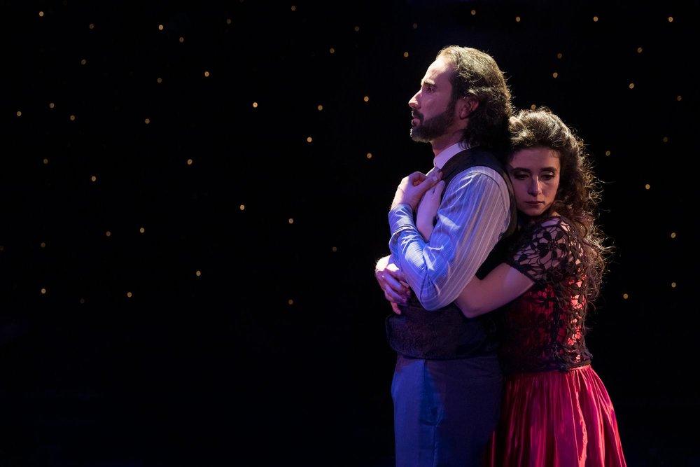 L to R: Joseph Barone, Eva Abramian