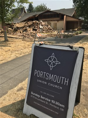 Portsmouth Union Gets to Work on Affordable Housing Project - UMOI | August 15, 2018Portsmouth Union Church in the north Portland neighborhood looks right now – from the outside – like it's in chaos. Last week, rubble from one-third of the building was strewn across the west side of the lot, there was some issue with the water, and two outhouses are now sitting on the east side parking lot. [Read More...]