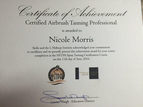 Tanning — Nicole Morris Makeup
