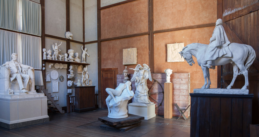 Innovative workspace   designed to accommodate large sculptures   Read all about it