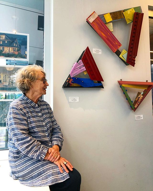 Saturday May 19th see MARIE RINGWALD's art on 14th Street NW, DC 37 works at two locations two blocks apart  MEET the ARTIST at Coldwell Banker's office, 1617  14th St. NW, DC from 1 to 6 p.m. Saturday May 19th, 2018  Walk to White Cloud Gallery, 1843 14th St. NW, DC for the Mid City Artists group show called DISCOVERY with additional works by  Marie This show is open Saturdays and Sundays in May, from 1 to 6  see works by Marie Ringwald from as early as 1981 and as late as 2017.  #midcityartists #midcityartistsdc #artindc #midcityartists #artistsindc #artistsinwashingtondc #artexhibition #artexhibitionindc #creative #creativeminds #artcollector #originalart #originalartwork #instaart #instaartist #instaartexhibition #instadc #202creates #dupontcircle #dupontcircleart #shawdc #shawdcart #logancircle #logancircledc #logancircleart