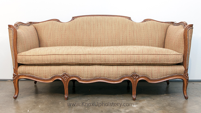 Antique French Upholstered Sofa