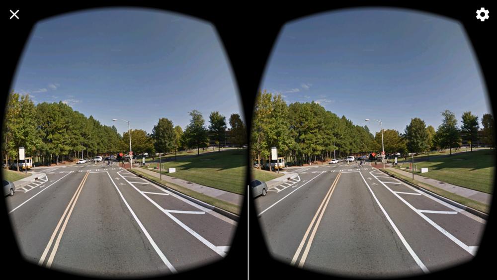 Google Street View of Georgia Tech's Campus