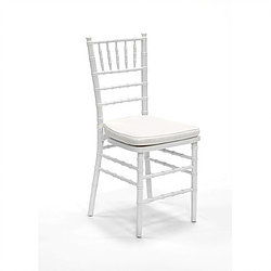 White Chavari Chair   Call to Reserve