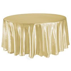 Champagne Table Cover   Call to Reserve