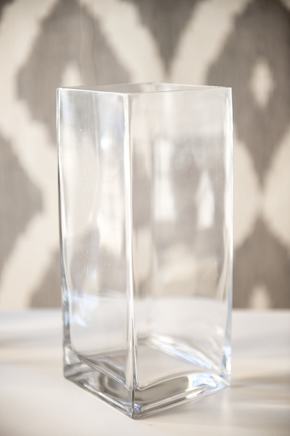 Tall Rectangle Vase   Reserve Now